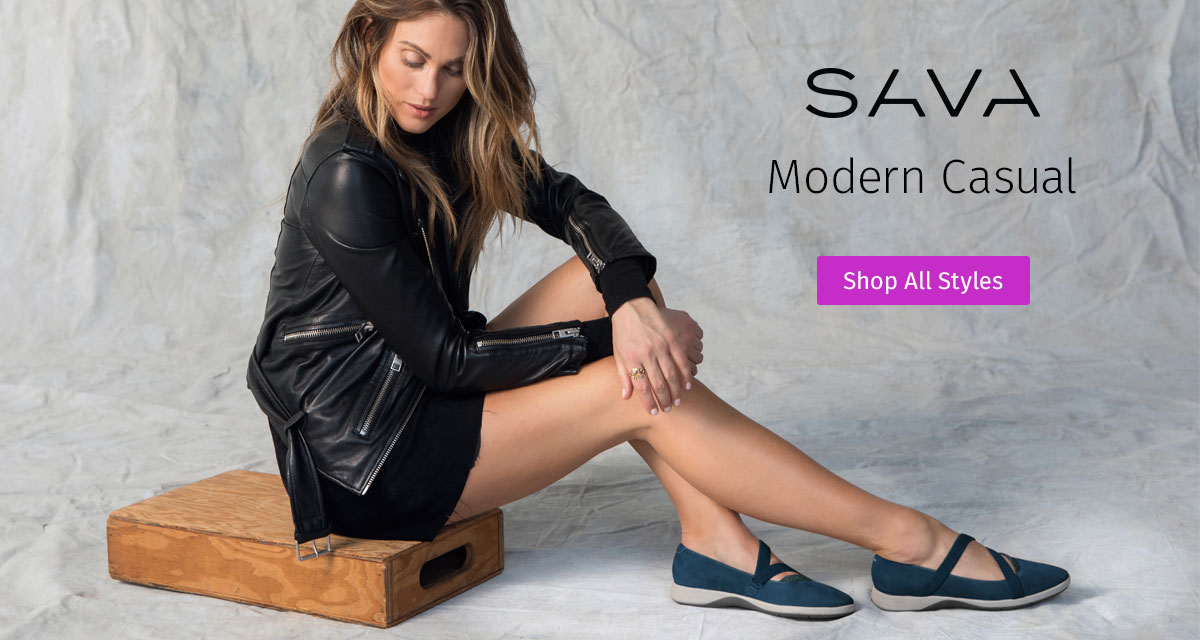 Sava. Modern Casual. Shop All Styles